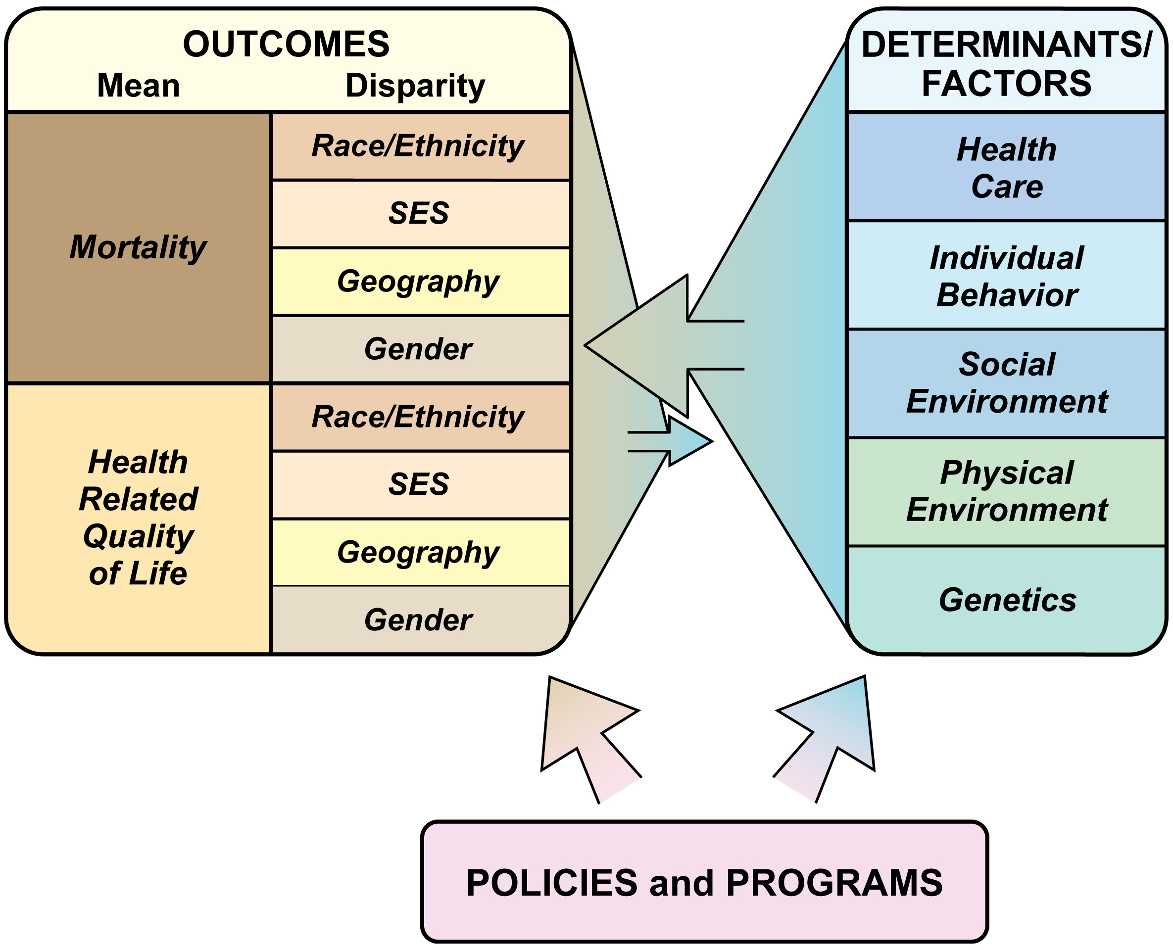 What Are Population Health Determinants Or Factors Improving